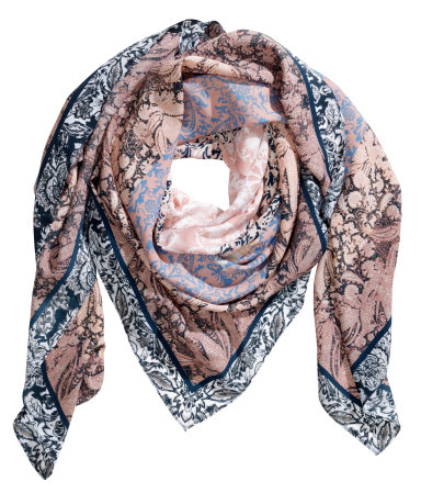 Patterned Scarf, $12.95