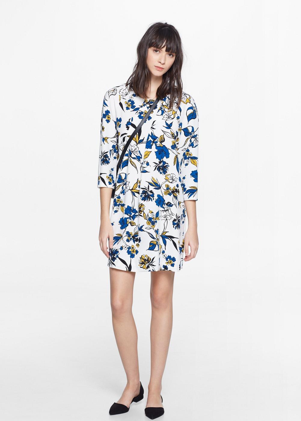 Seam Print dress , $79.99