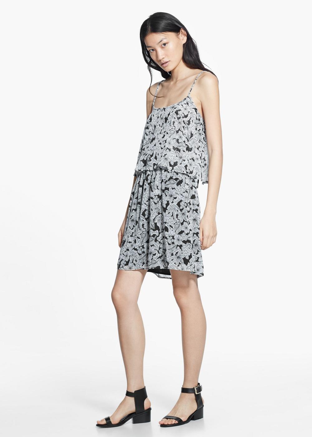 Floral Print Dress , $49.99