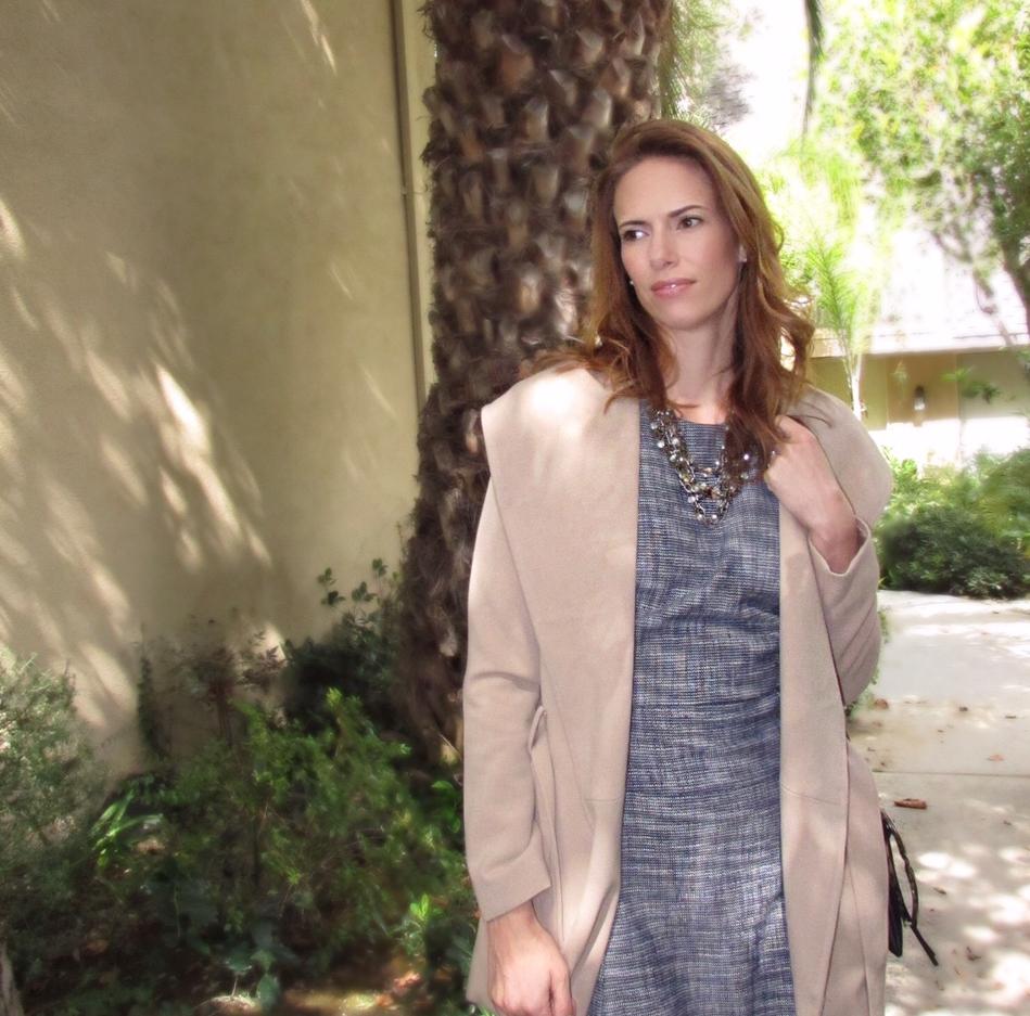 fall style gap dress