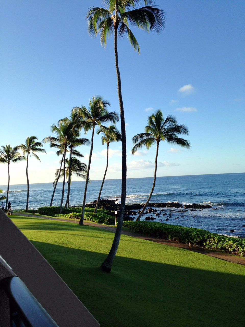 Room view at the Sheraton Kauai