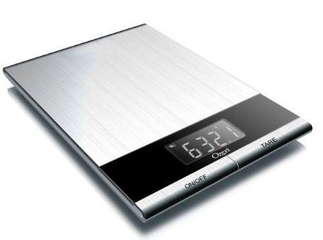 Ozeri Ultra Thin Professional Digital Kitchen Food Scale