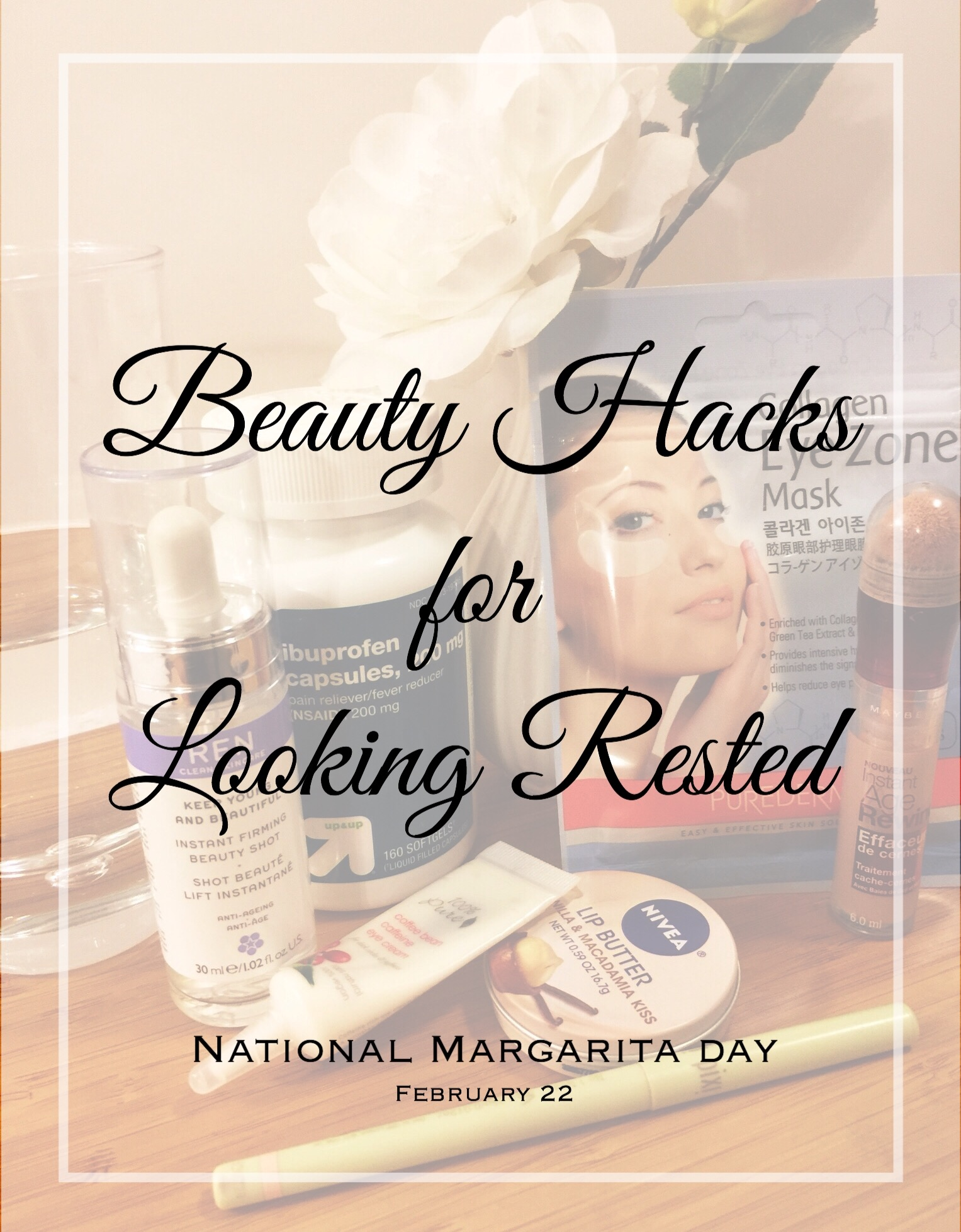 Beauty Hacks for looking rested