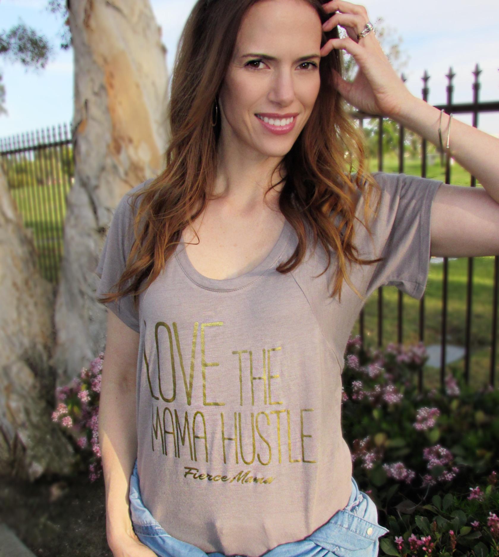 fierce mama tees style blogger