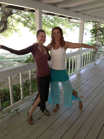 Summer, 2014 - Deb visited me for one precious week in between her home stay and hospital time