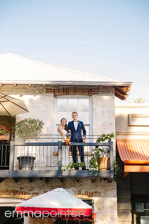 Whispers Wine Bar Wedding Photo