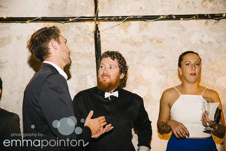 Wedding Guests Moore & Moore Cafe Fremantle