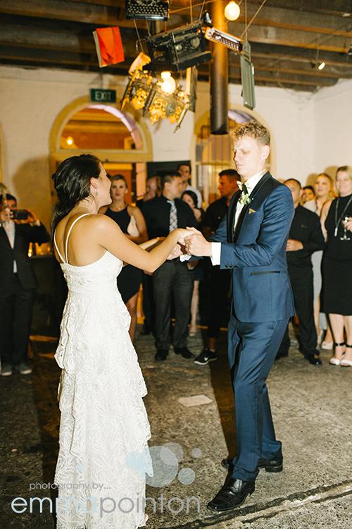 First dance Fremantle Wedding