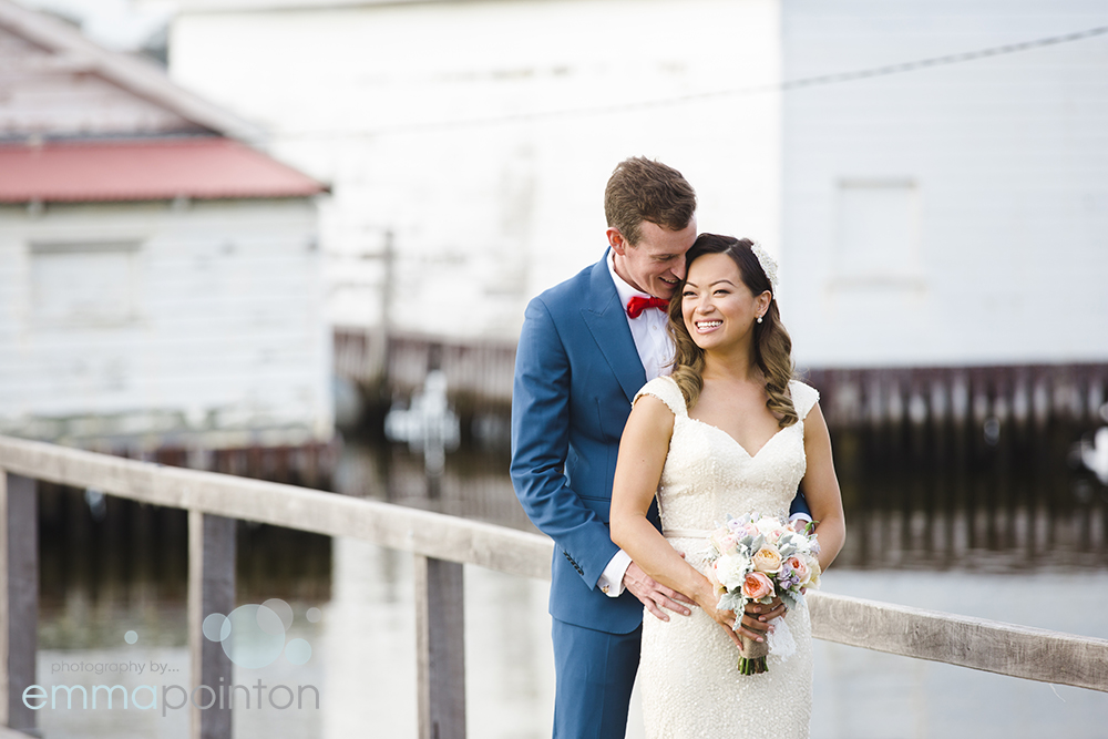 Jetty wedding photos Swan river