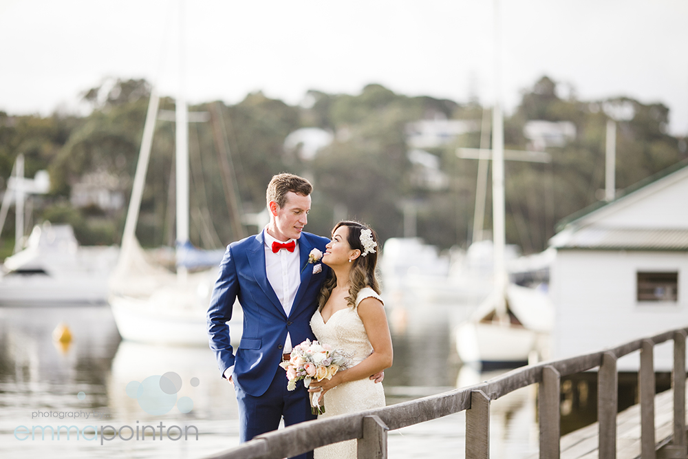 White Boathouse Mosman Park Wedding