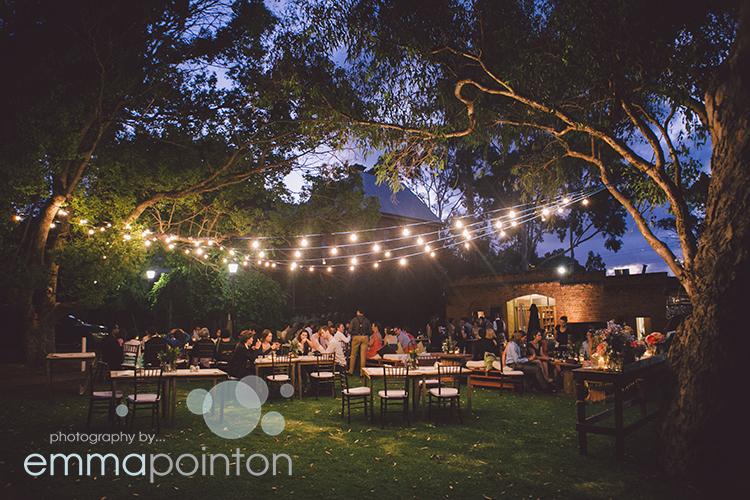 Wedding reception at Riverside at Woodbridge