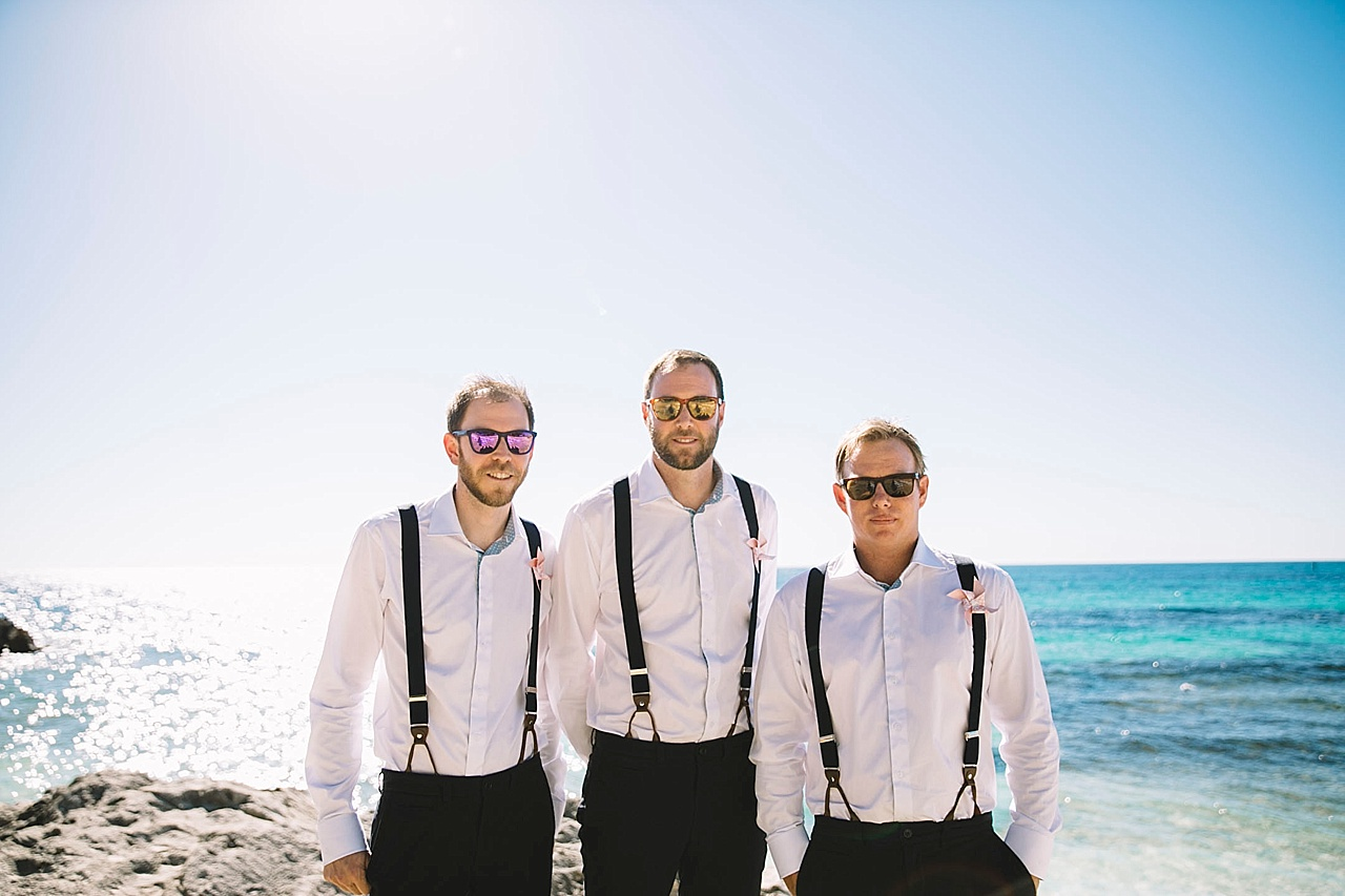 The Basin wedding Rottnest