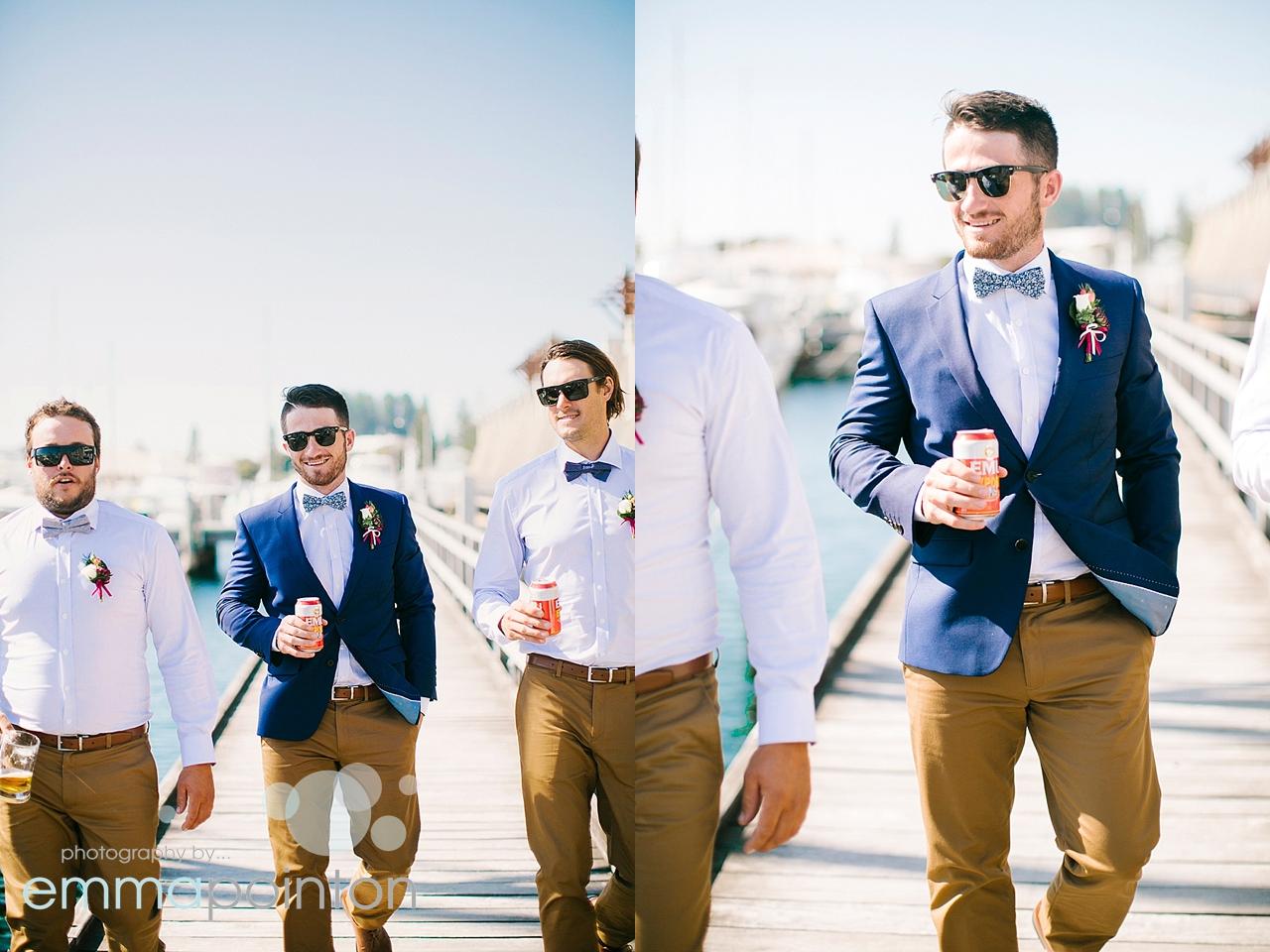 Fremantle Wharf groom photos