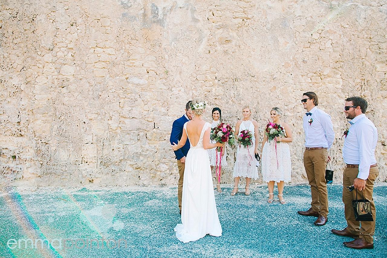 round house wedding photos