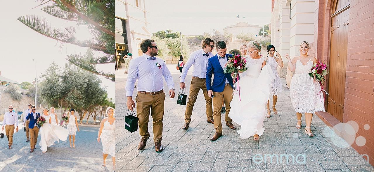 Wedding portraits Fremantle