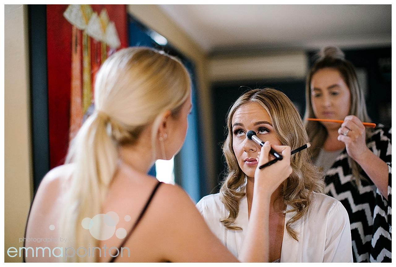 Emer Rose Wedding Makeup Perth