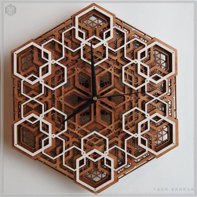 Geometric, wood, woodwork, cnc, cad, maya, rhino, procedural, generative, geometry, sacred,hexagon, platonic, solid, psy, psychedelic, art, clock, shop, buy, sale, store, discount,l, spiritual 55.jpg