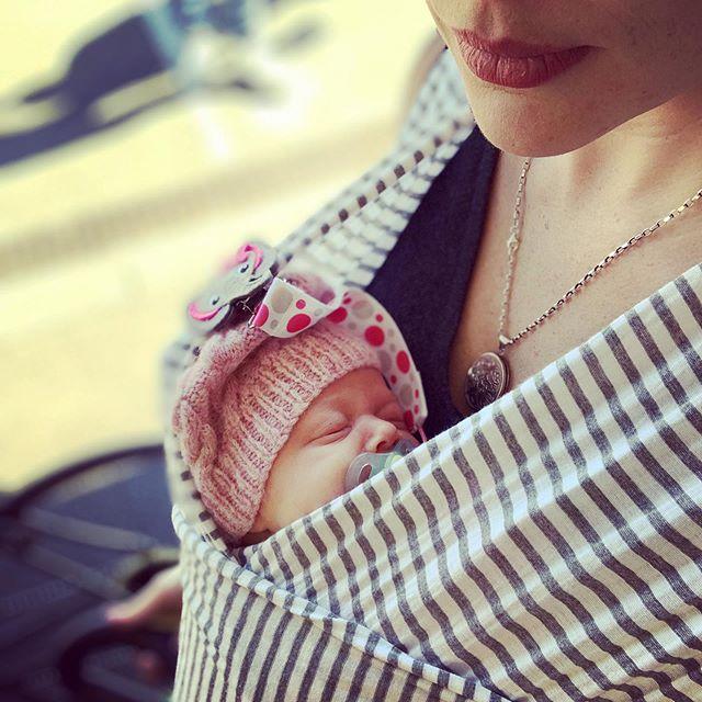 Baby bundle love 💕 still so tiny 🥰