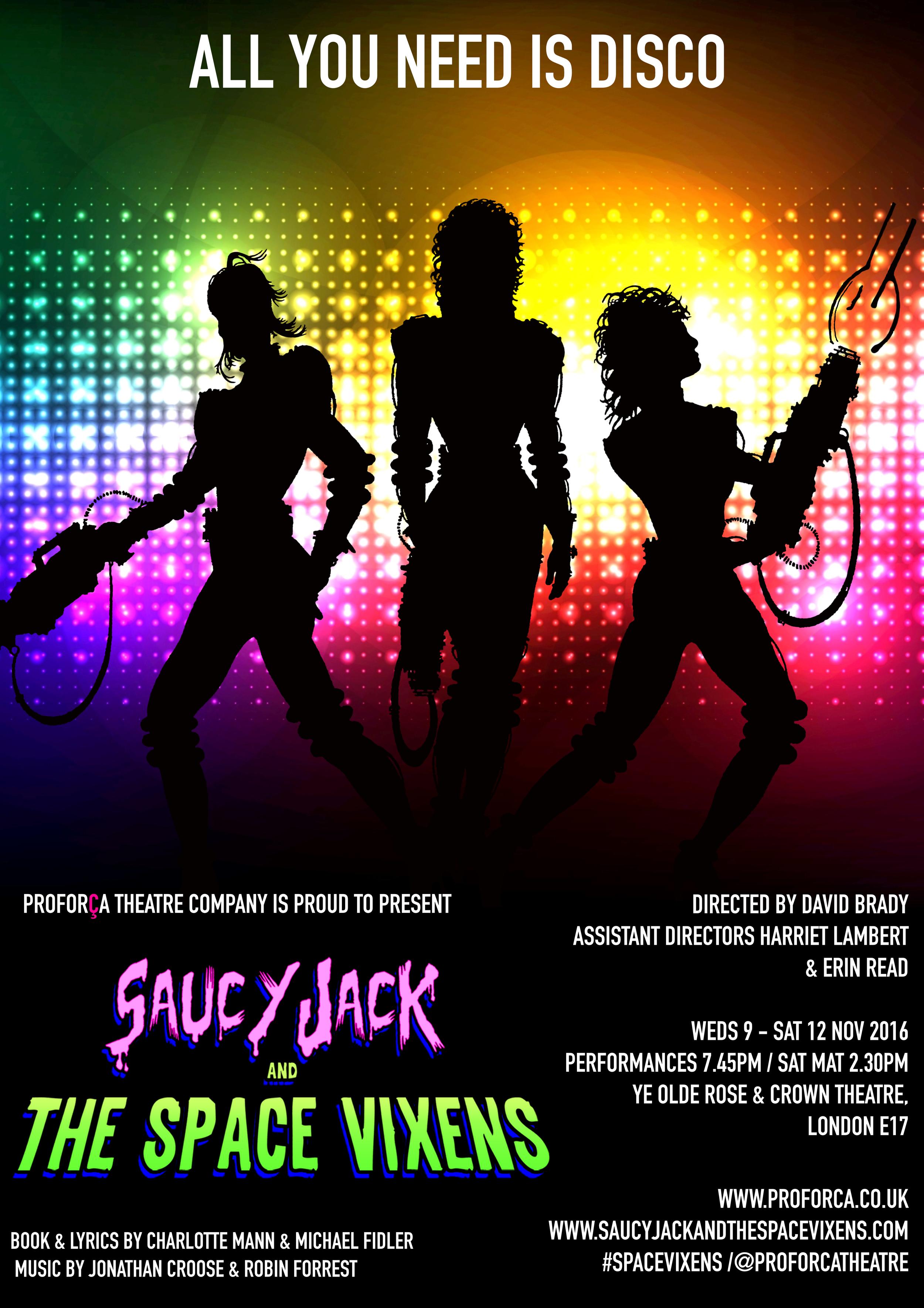 Saucy Jack & The Space Vixens (2016)