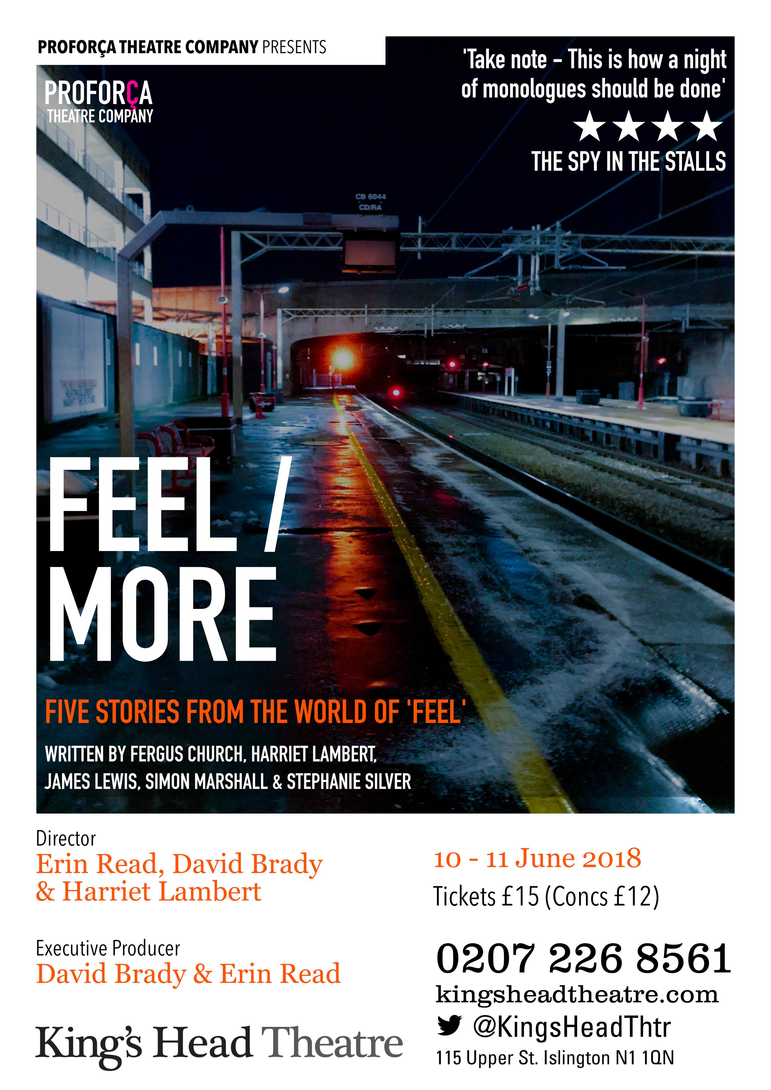 Feel / More - King's Head (2018)