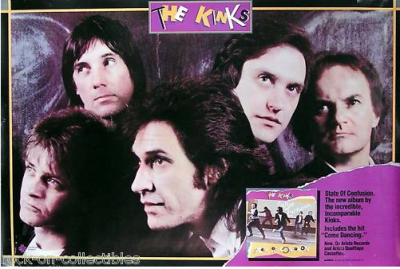 May 21, 1983 – The Kinks – Spectrum