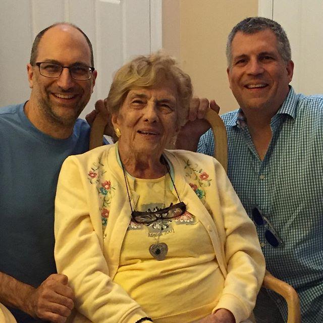 The Original Grandchildren with Big Gram.