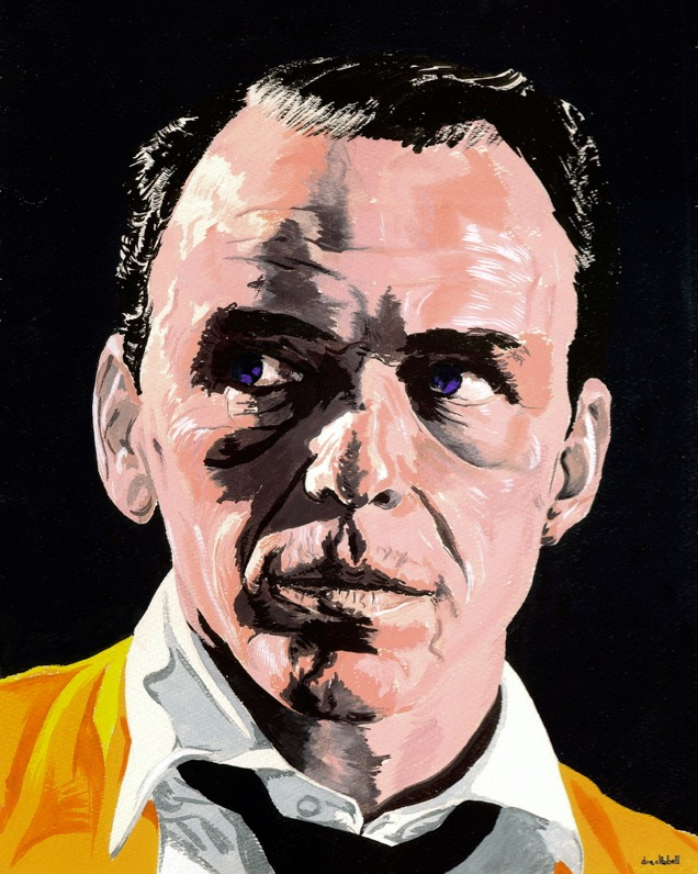 Frank Sinatra by Don Altobell