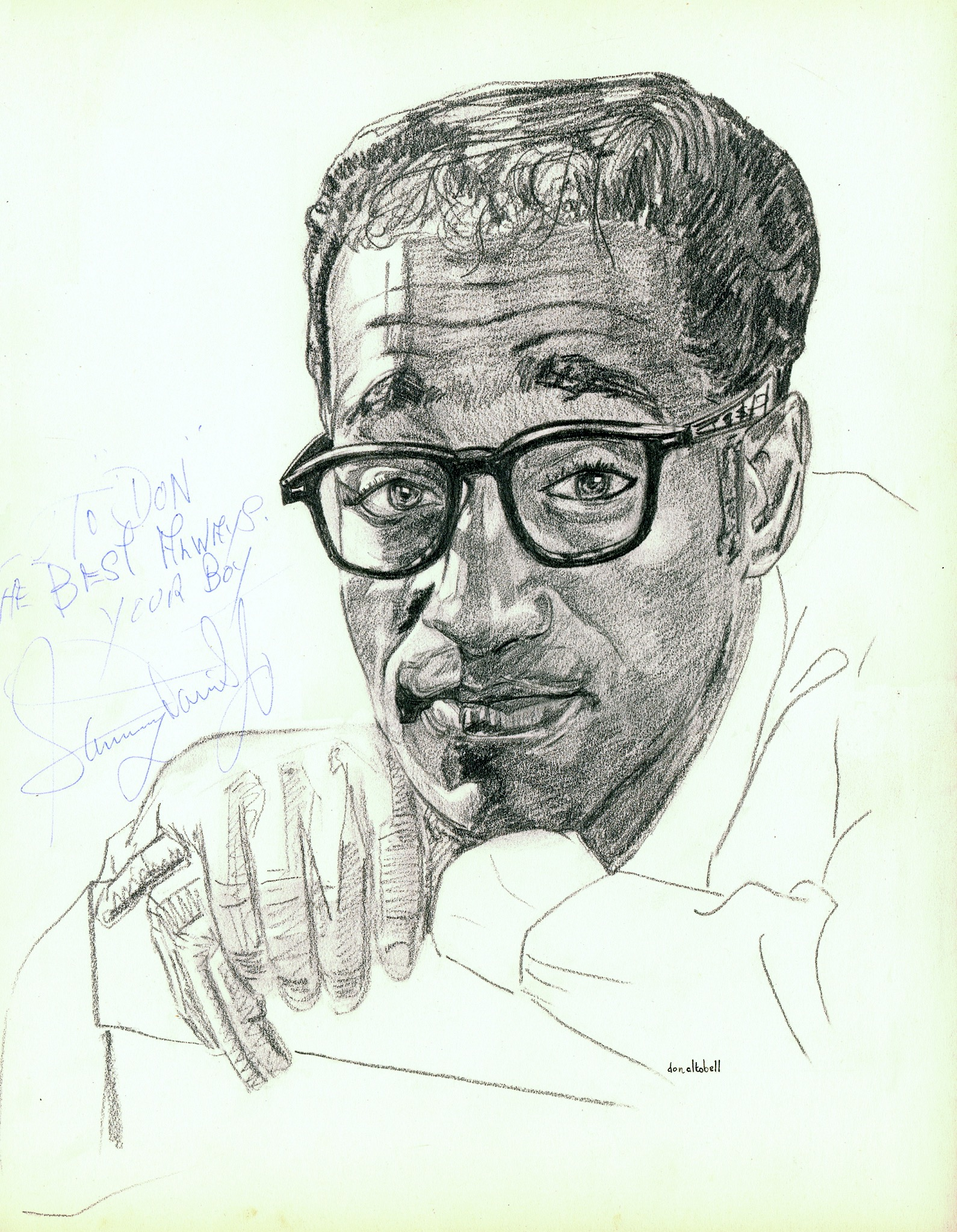 Sammy Davis, Jr.  by Don Altobell