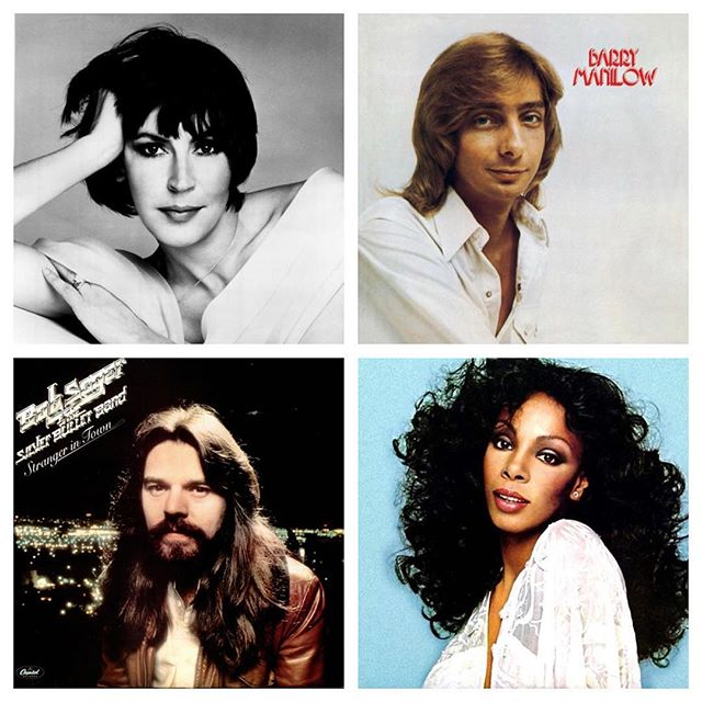 It's K-Paulie's Super Sounds of the '70s Labor Day Weekend.  Any requests? #barrymanilow #donnasummer #helenready #bobseger #resivoirdogs