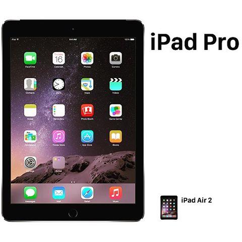 iPad Pro is ENORMOUS.  #appleevent #ipadpro