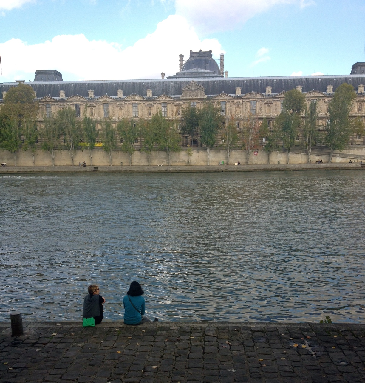 Me and WheetaBex hanging by the Seine.