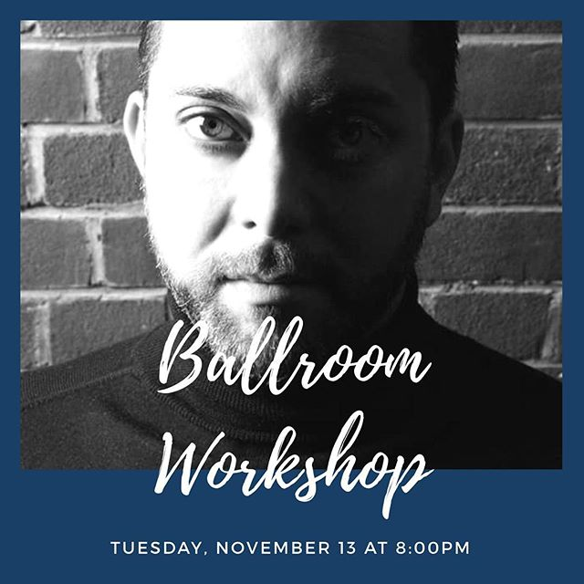 ✨Ballroom Workshop today ✨ For the first time ever, Bryan Watson will be teaching in Utah.  Bryan is a 9x undefeated World Champion, 7x Blackpool Champion, and 4x International Champion. He also won the Professional Latin category in various other world competitions, including the Kremlin Cup, the European Championships, the German Open, and the US Open. @strictlyballroomutah 💃🏻 Tuesday, November 13 8:00PM $35 Per Person