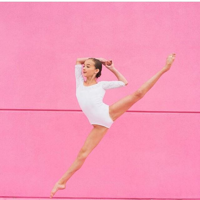 Don't wish for it, work for it 🌸✨ stunning shot of Teen Co Touring member @zoski11  #centerstageutah