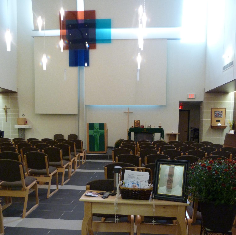Chapel at St. Maximilian Kolbe CHS