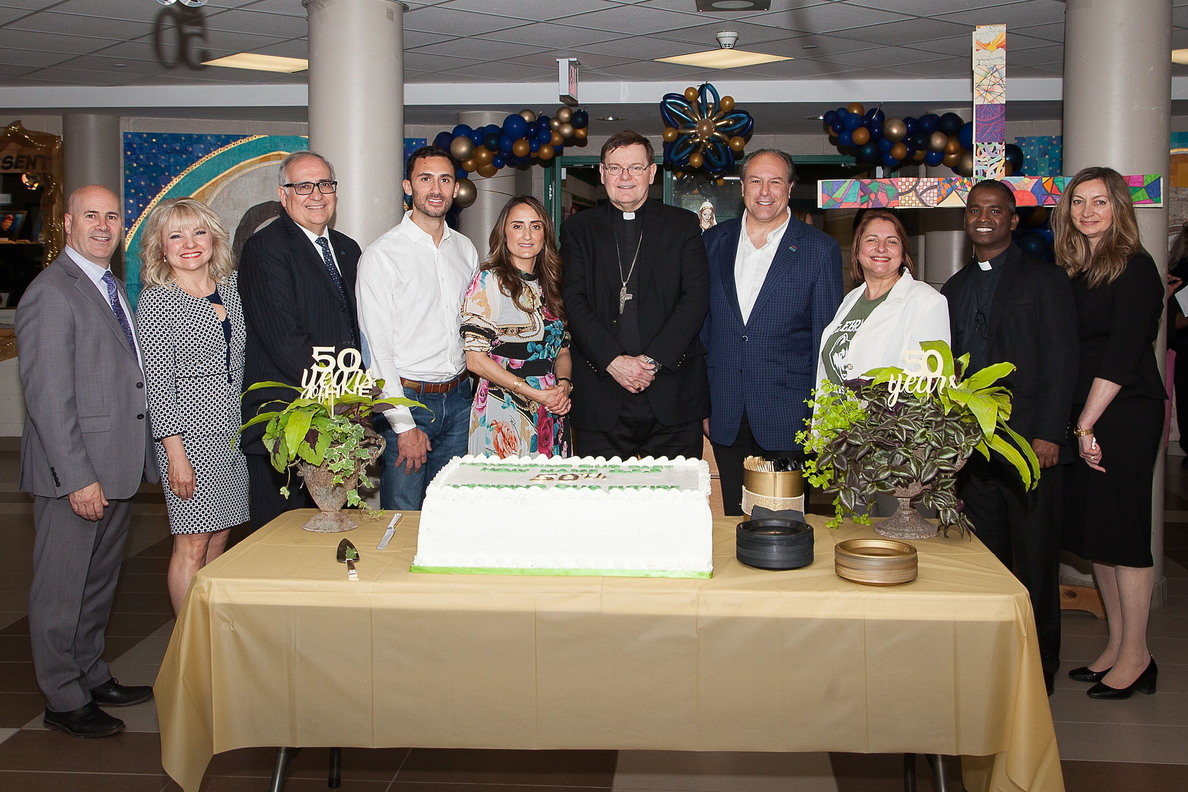 Celebrating the 50th Anniversary of Holy Name CES, King City