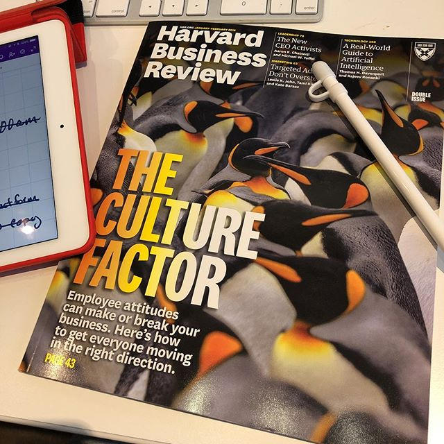 Reading @harvard_business_review on Culture.  Great afternoon read and research. I have plenty of thoughts - Aaron  #business #culture #customerservice #openbook #management #austintx #austin #education #consciousculture #powertools