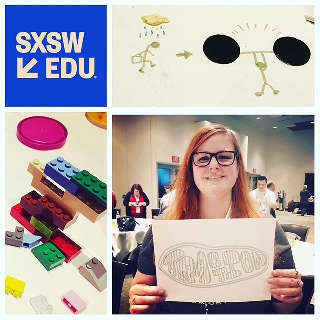 We're out here @sxswedu learning from the industry's best! 🎓  #rigorouswhimsy #intentionthebook @amyburvall @wickeddecent #intentionoreo