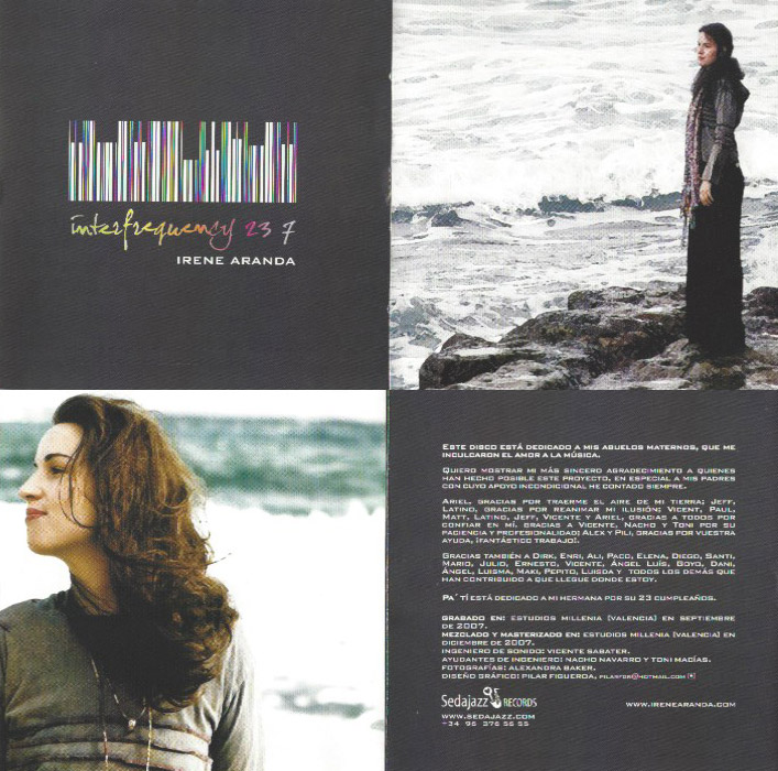 Interfrequency 23/7 - Irene Aranda CD