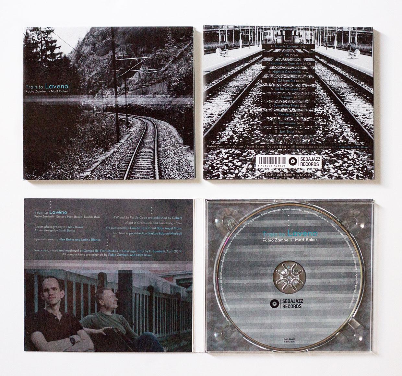 Train to Laveno - Zambelli/Baker Duo