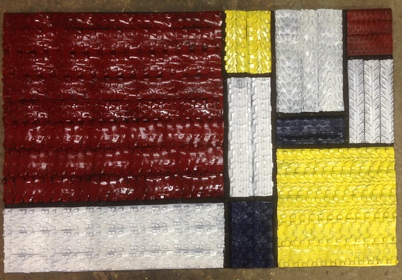 Squares in treads  SKU #12300/ MSRP $496