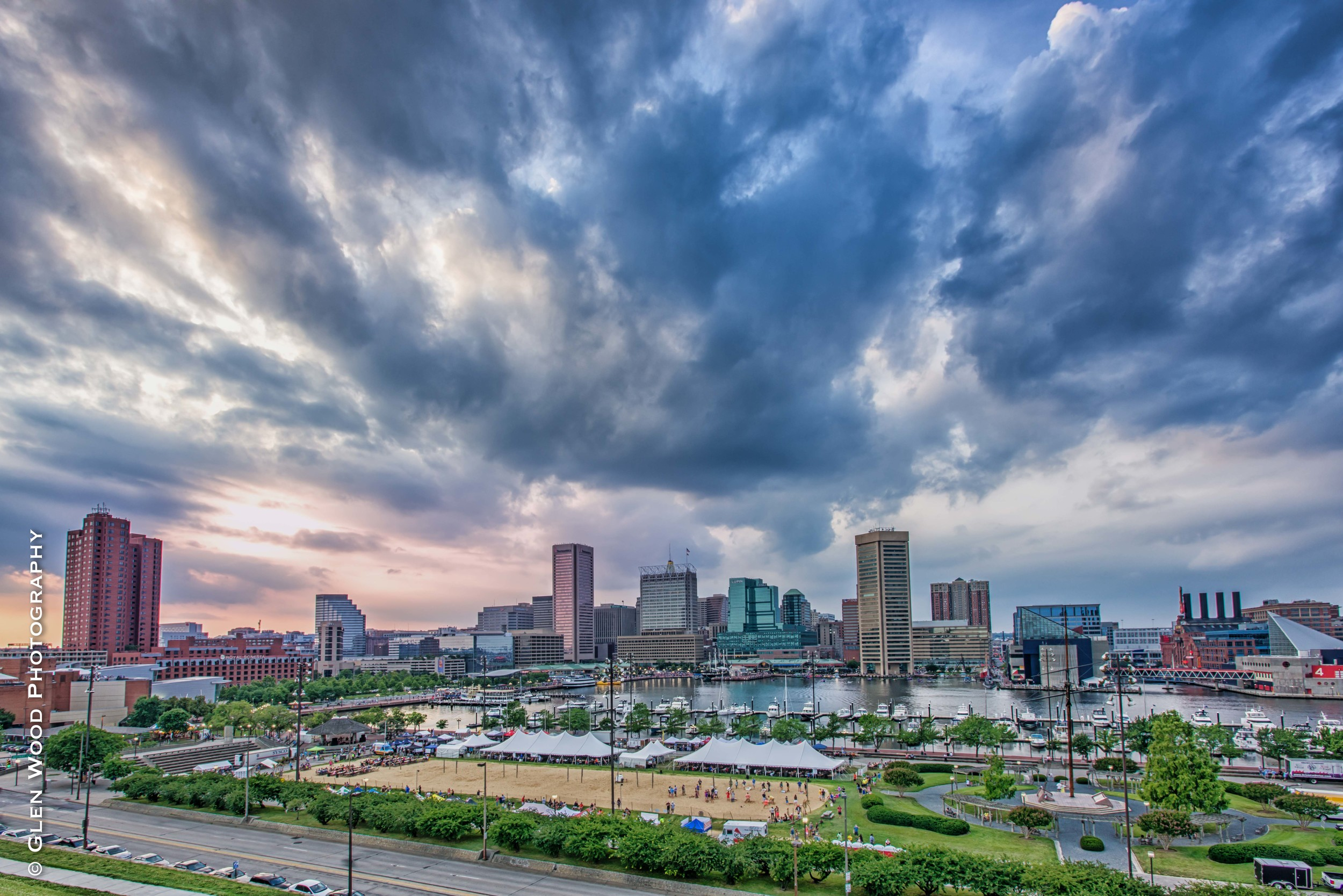Summers Night from Fed Hill June 13 2015