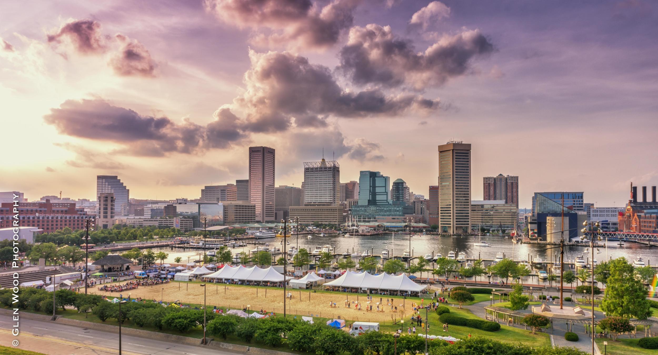 Sunset Baltimore 2015