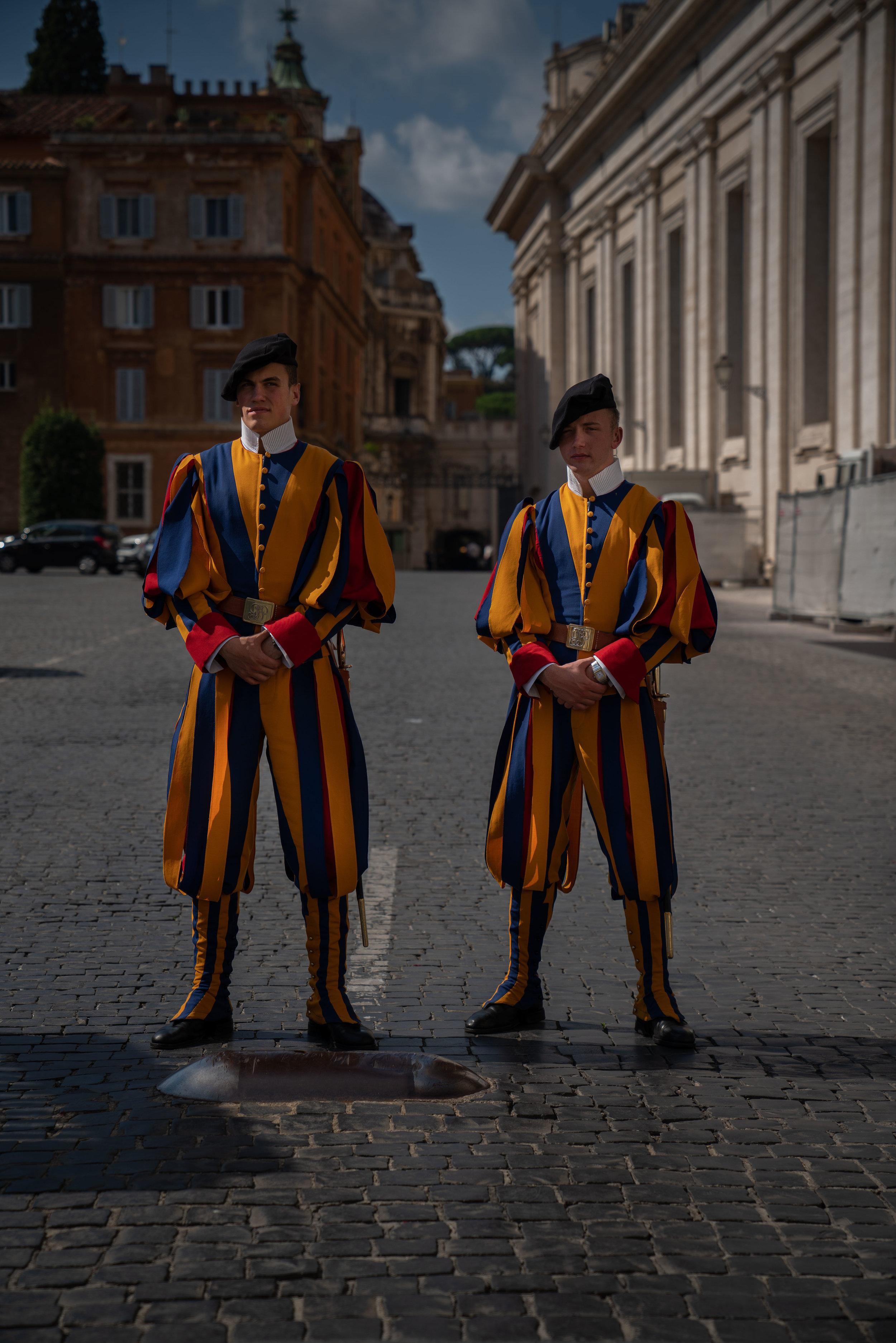 Vatican guard