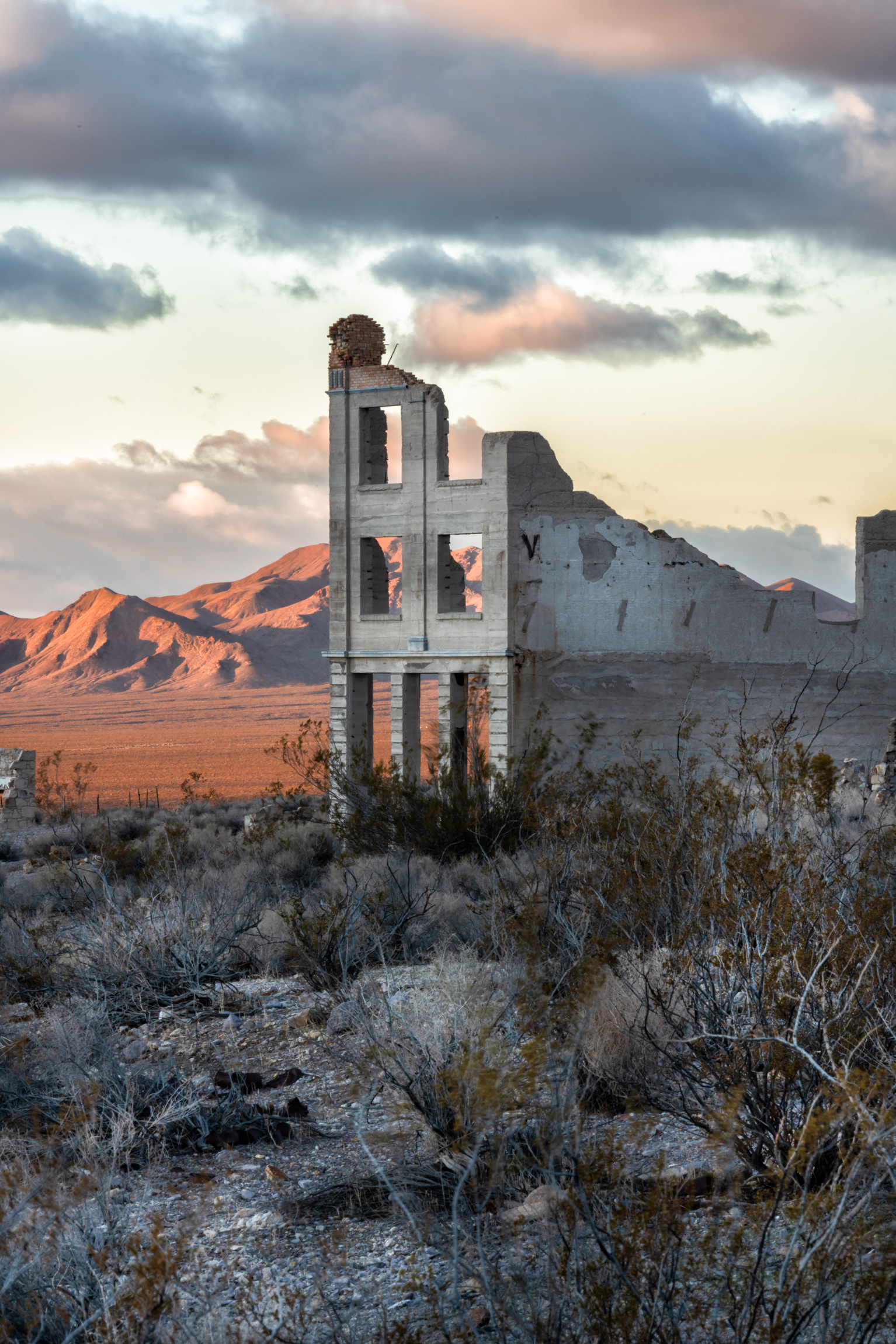 Rhyolite Ghost Town (NV) by Beatty