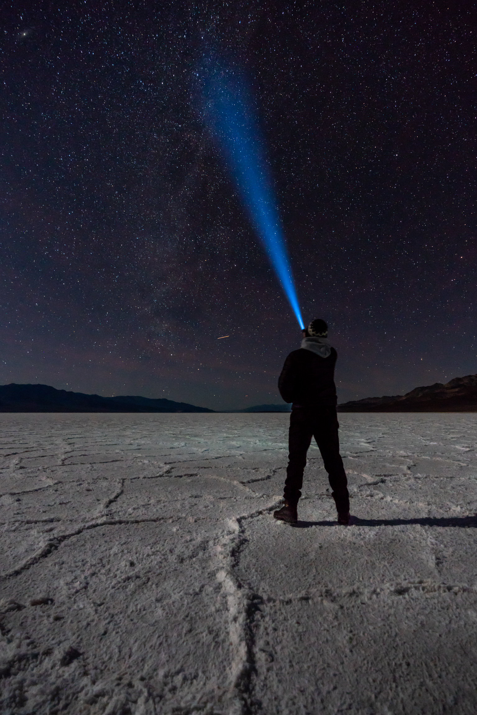 Chasing Stars on the Badwater Basin