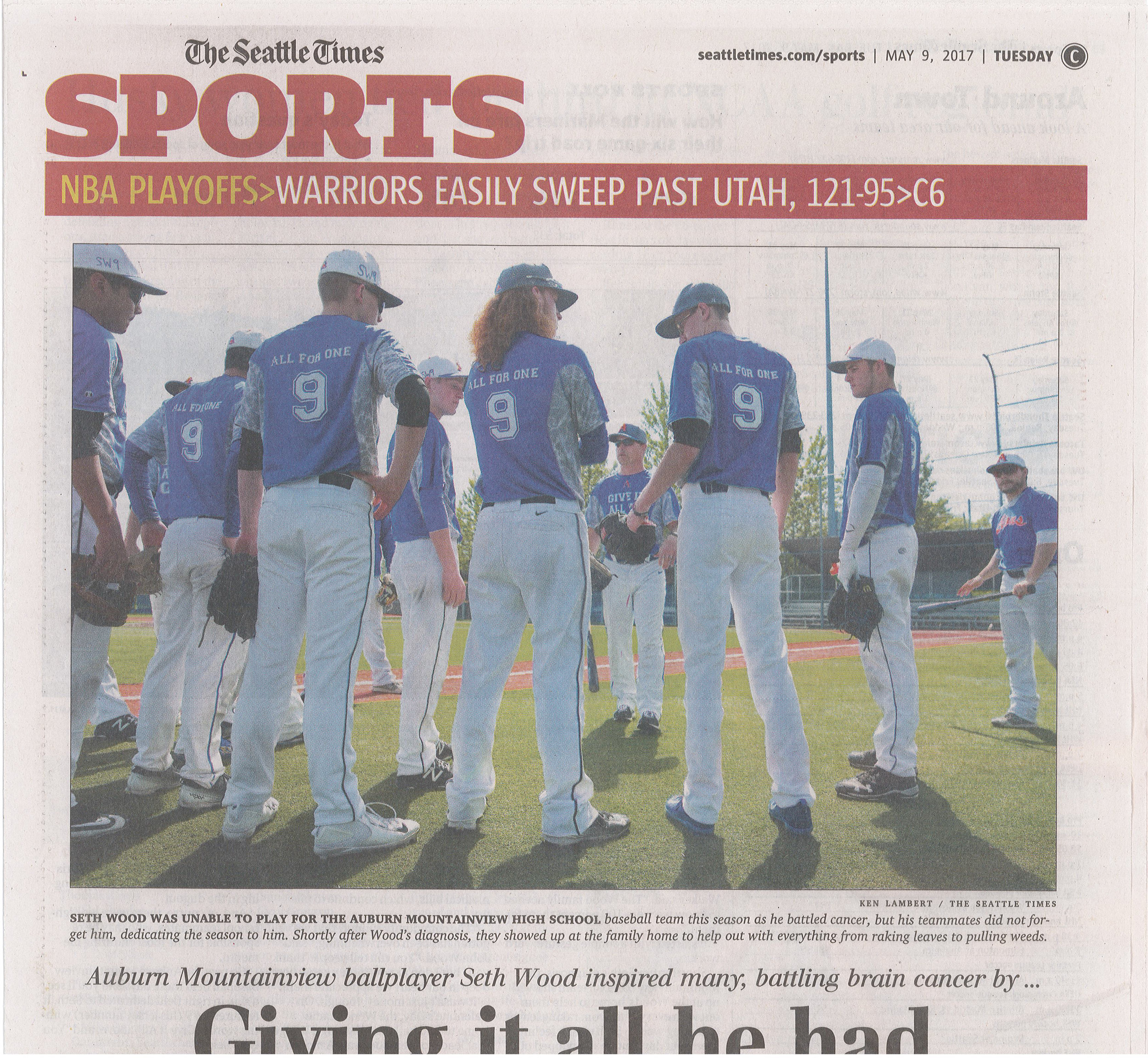 WLWLTDOO-2017-EPHEMERA-SEATTLE_TIMES-SPORTS-050917-FRONT.jpg