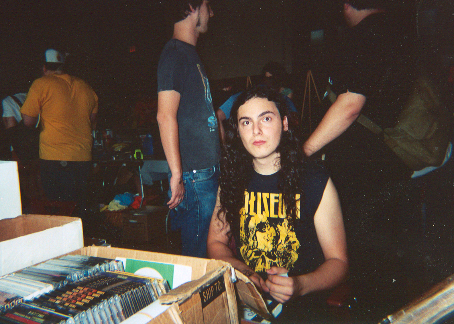 Above: Jonah from Teenage Disco Bloodbath Records