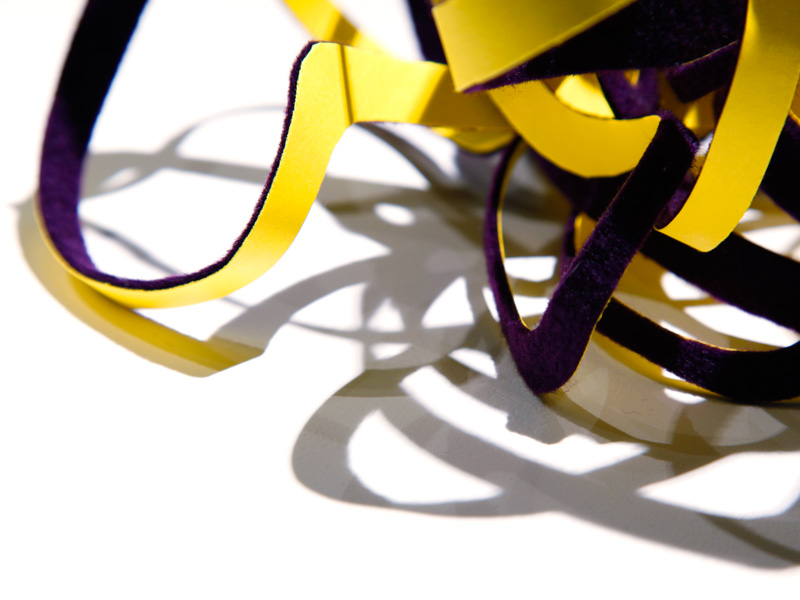 Detail: Contortions of a Purple-Yellow Haze