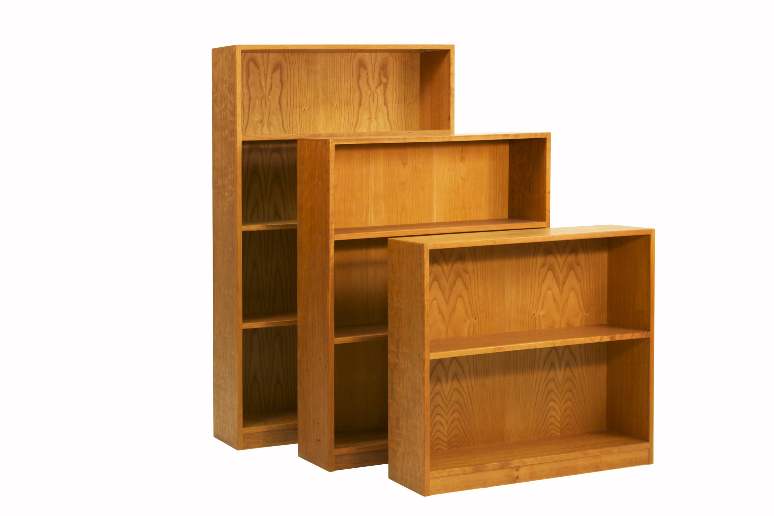 Basic Bookcases in Cherry