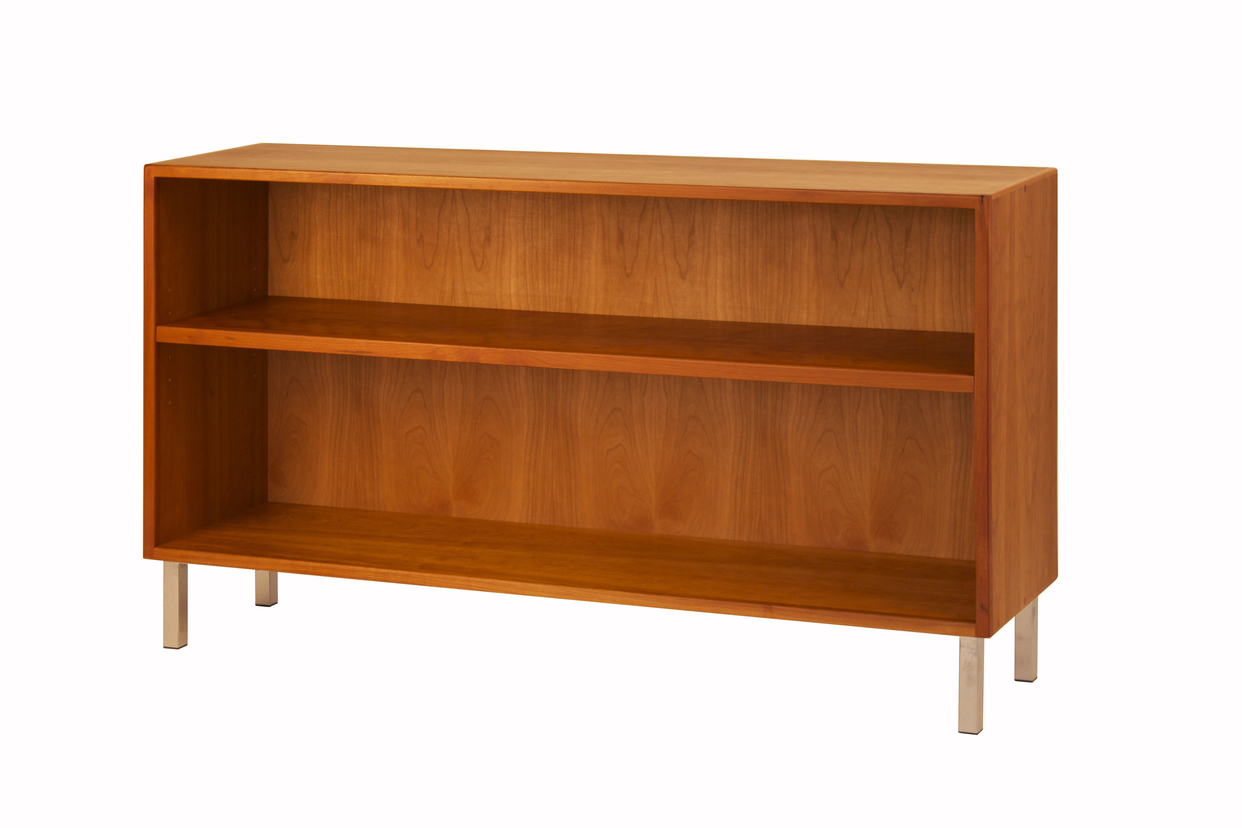 Mid-Century Modern Bookcase in Cherry